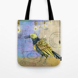 Grunge Wings Tote Bag