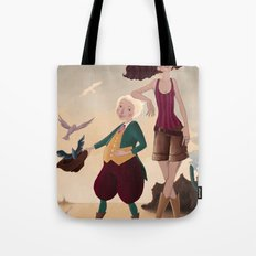 Aren and Than Tote Bag