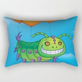 Impatient Caterpillar Rectangular Pillow