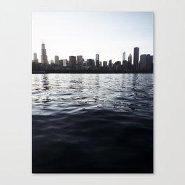 Dark Blue Canvas Print