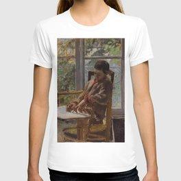Camille Pissarro - Portrait of Lucien Pissarro T-shirt