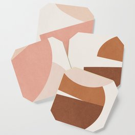 Abstract Stack II Coaster