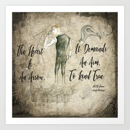 Six Of Crows Quote Art Print