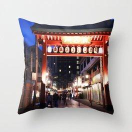 Tokyo Gateway Throw Pillow