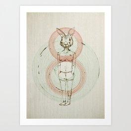 my bunny Art Print