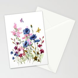 Wildflowers IV Stationery Cards
