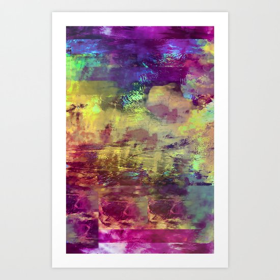 Vintage Abstract for IPhone Art Print