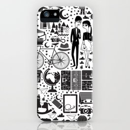 LIKES PATTERNS iPhone Case