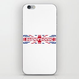 Supersonic iPhone Skin