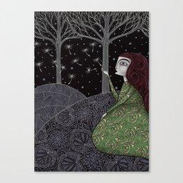 My Winter Stars Canvas Print