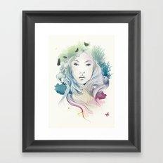 aoki Framed Art Print