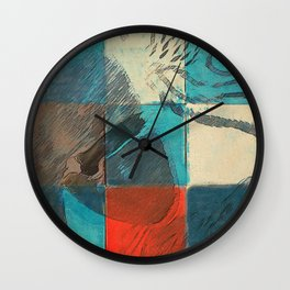 Jolis Parrots 3 Wall Clock
