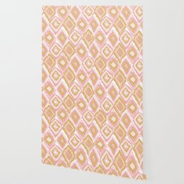Golungo Alto Pink pattern Wallpaper