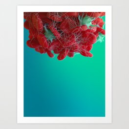 Red Blood Cells Art Print