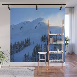 Ghosts In The Snow Wall Mural