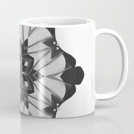 Grunge Christmas Snowflake Coffee Mug