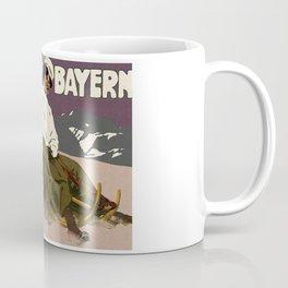 WinterWinter in Bayern, vintage poster Coffee Mug