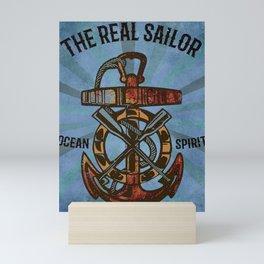 Real Sailor Ocean Spirit Mini Art Print