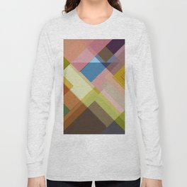 Abstract Composition 634 Long Sleeve T-shirt