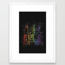 Orlando Bleeds Framed Art Print