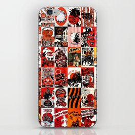 Halloween : Trick Or Treat, Smell My Feet, Gimmie Something Good To Eat. iPhone Skin
