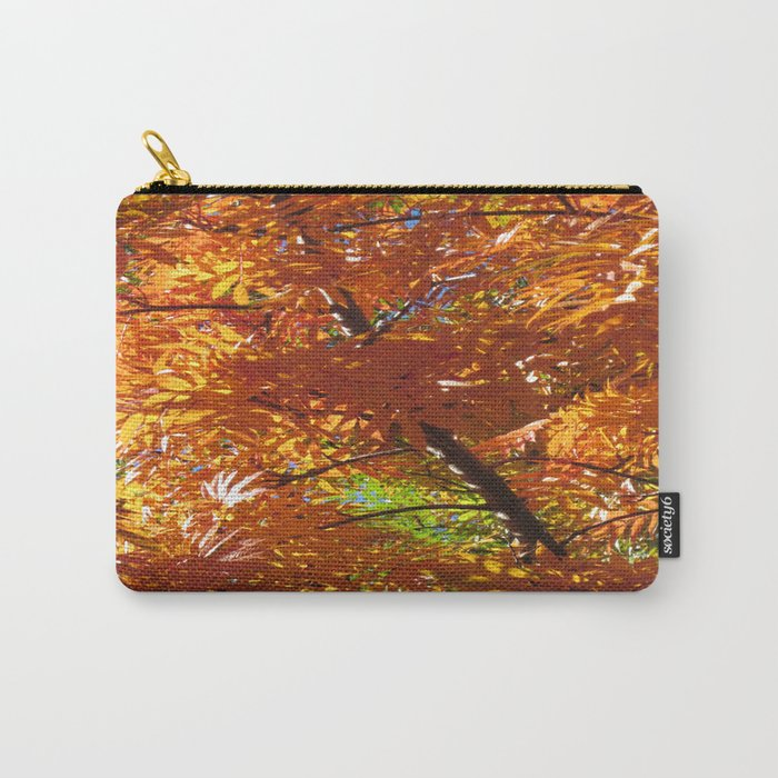 Fallbeauty/Orange Foliage Carry-All Pouch