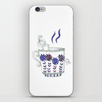 coffe iPhone & iPod Skins featuring Coffe Break by Pitiypo