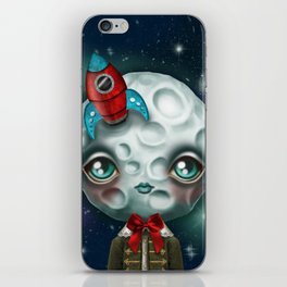 Moon Boy iPhone Skin