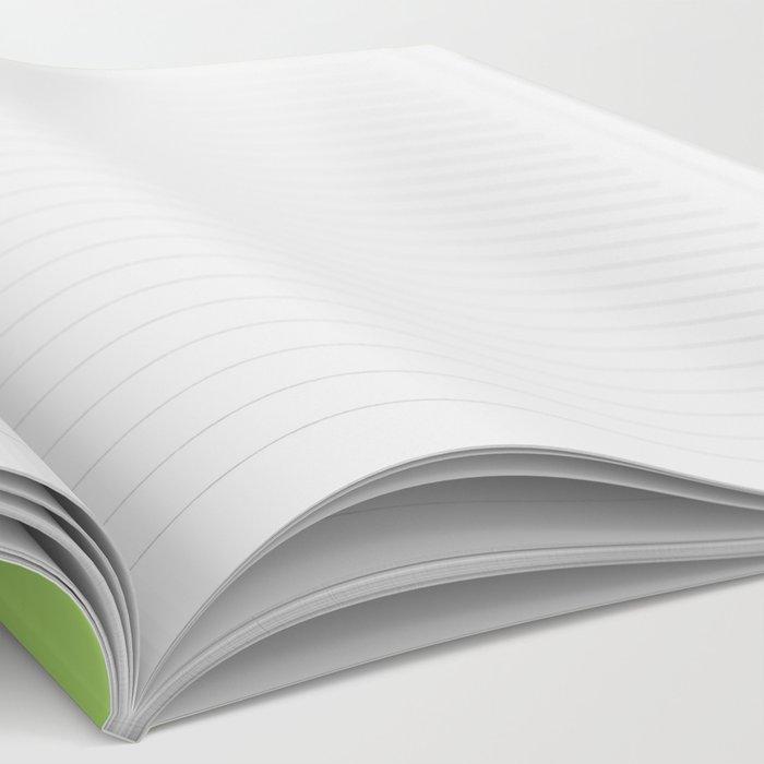 Avocado Yoga Notebook