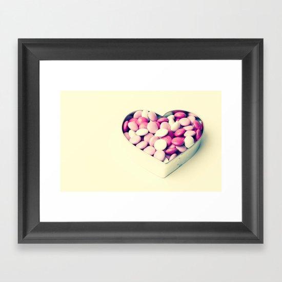 Pink Sweetheart  Framed Art Print