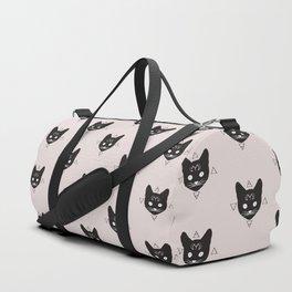 Cats!Black Duffle Bag