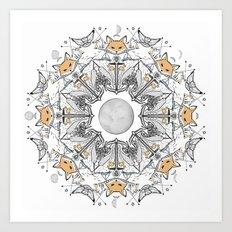 Pacific Mandala Art Print