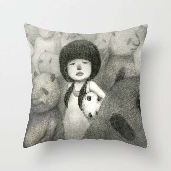 Find Your Identity Throw Pillow