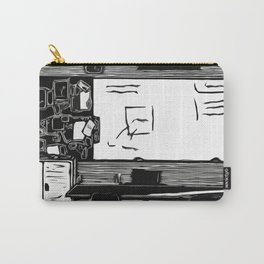 Class Print Carry-All Pouch