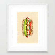 Chicago Style Framed Art Print