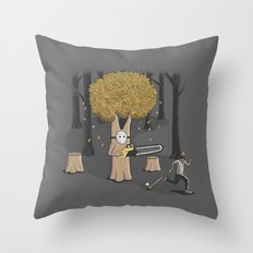 Deforest this Throw Pillow