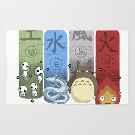Ghibli Elemental Charms Rug