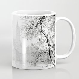 Winter - Central Park - New York City Coffee Mug
