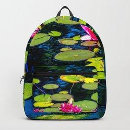 Dancing Lilies by Teresa Thompson Backpack