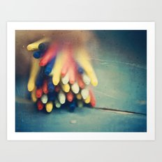 Sticks Art Print