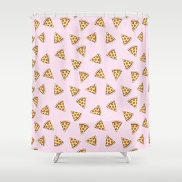 Pizza is Life Shower Curtain