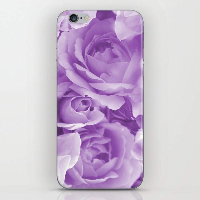 Violet Rose Bouquet For You - Valentine's Day #decor #society6 #homedecor iPhone Skin