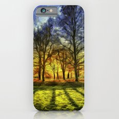Greenwich Park London Sunset Art iPhone 6s Slim Case