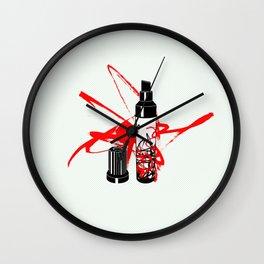 marker Wall Clock