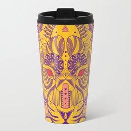 Zentangle Tiger  Travel Mug