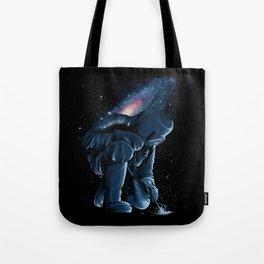 Welder In Space Tote Bag