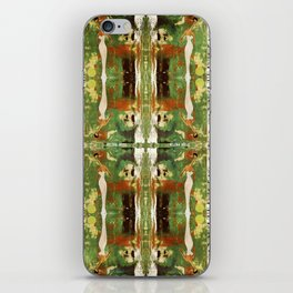 Out there in the woods, I feel peace........ iPhone Skin