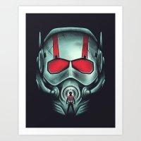 Ant-hero Art Print