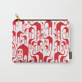 Elephant Herd 2 Carry-All Pouch
