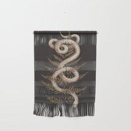 The Snake and Fern Wall Hanging